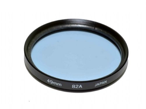 High Quality Optical Glass 82A Filter Made in Japan 49mm Kood